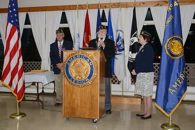 Naperville, Illinois American Legion Installation Dinner - September 19, 2015