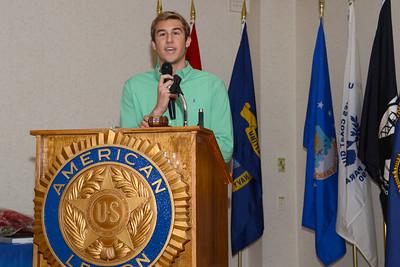 Naperville, Illinois American Legion Awards Banquet - April 18, 2015