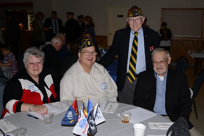 American Legion Social - Naperville, Illinois - Veterans Day Celebration - November 11, 2016