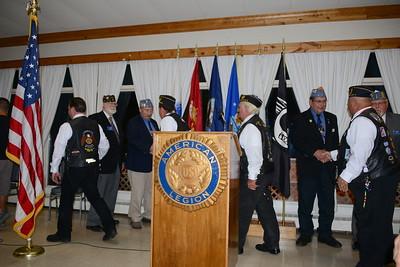 American Legion Social - Naperville, Illinois - Installation of Legion Officers - September 17, 2016