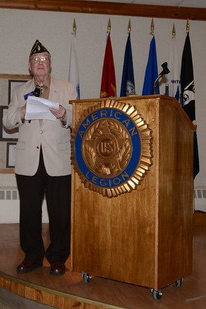 American Legion Post 43 Social - Naperville, Illinois - Citizens of the Year - Scholarships - April 15, 2017