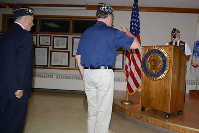 American Legion Post 43 Social - Naperville, Illinois - Installation of Officers - September 15, 2018