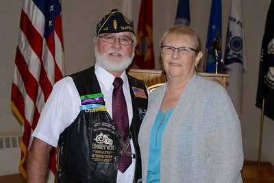 American Legion Post 43 Social - Naperville, Illinois - Installation of Officers - September 15, 2018
