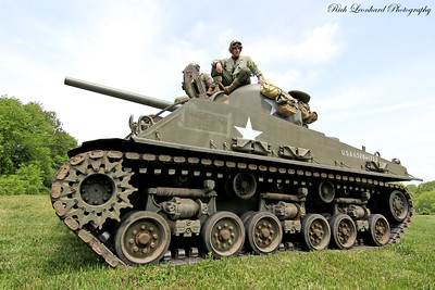 M1 Sherman tank from WW2.