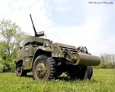 Halftrack from WW2 US Army.