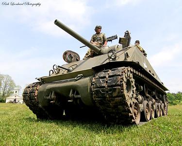 M1 Sherman tank.