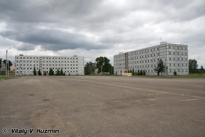 Лагерный сбор студентов в Таманской дивизии (Annual camp for the students in Tamanskaya division)