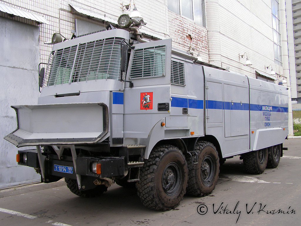 Водометный спецавтомобиль Лавина-Ураган Урал-532362 (Antiriot vehicle Lavina-Uragan on Ural-532362 chassis)