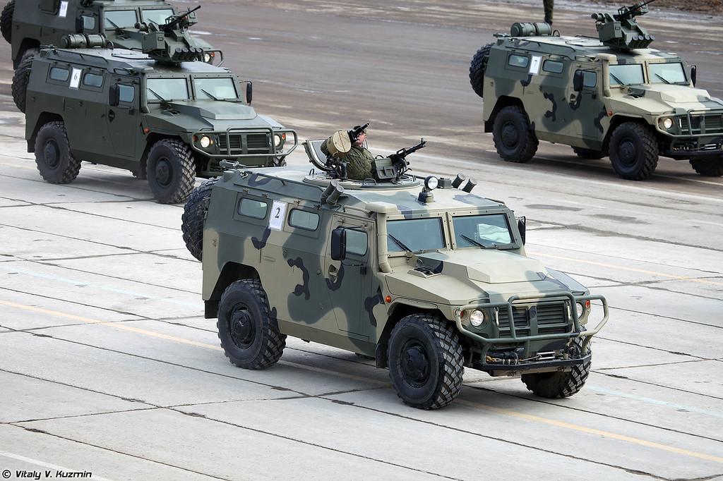 АCН 233115 Тигр-М СПН (ASN 233115 Tigr-M SPN armored vehicle)