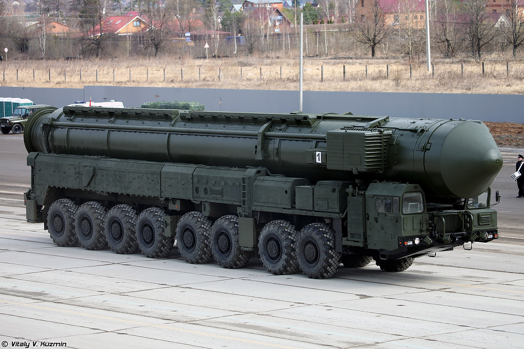 АПУ 15У175М комплекса РС-24 Ярс (15U175M TEL from RS-24 Yars ICBM)