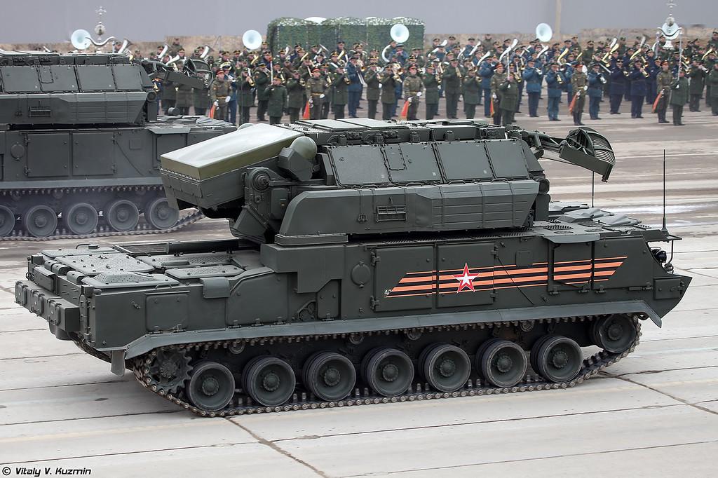 ЗРК Тор-М2У (Tor-M2U)