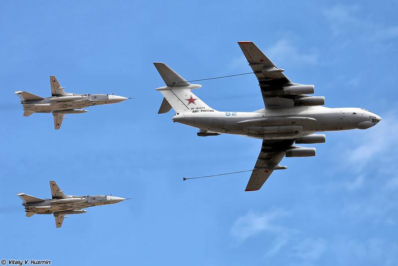 Ил-78М и Су-24М (IL-78M and Su-24M)