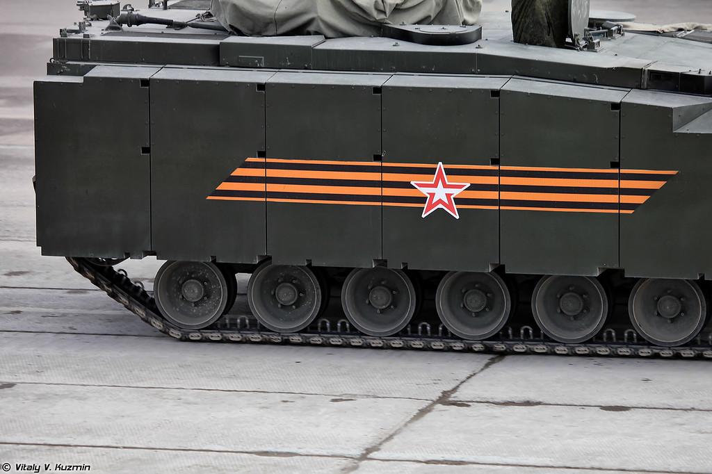 Бронетранспортер объект 693 на средней гусеничной платформе Курганец-25 (Armoured personnel carrier object 693 on medium tracked platform Kurganets-25)