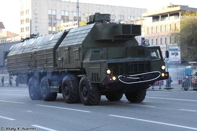 Машина обеспечения боевого дежурства МОБД (Combat duty support vehicle MOBD)
