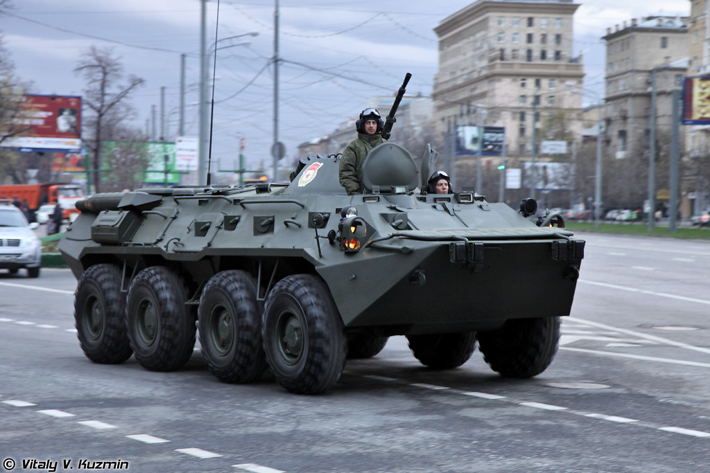 БТР-80 (BTR-80 APC)