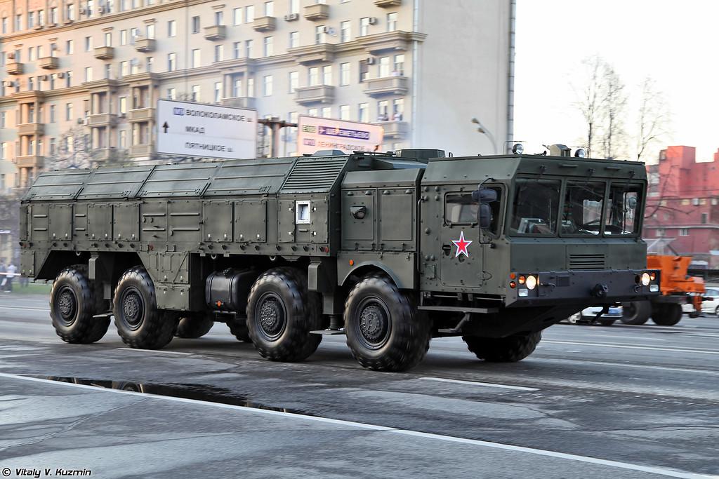 Самоходная пусковая установка ОТРК Искандер-М (9P78-1 TEL for Iskander-M system)
