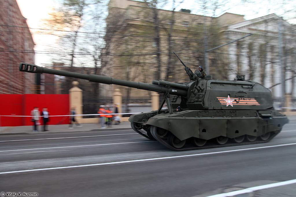 САУ 2С19М2 Мста-С (2S19M2 Msta-S self-propelled artillery)