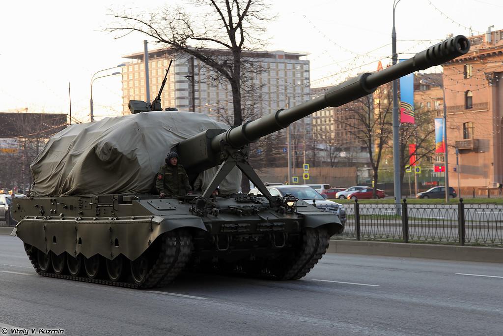 152-мм САУ 2С35 Коалиция-СВ (152mm self-propelled gun 2S35 Koalitsiya-SV)