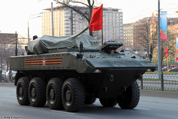 April 29th rehearsal of 2015 Victory Day Parade in Moscow