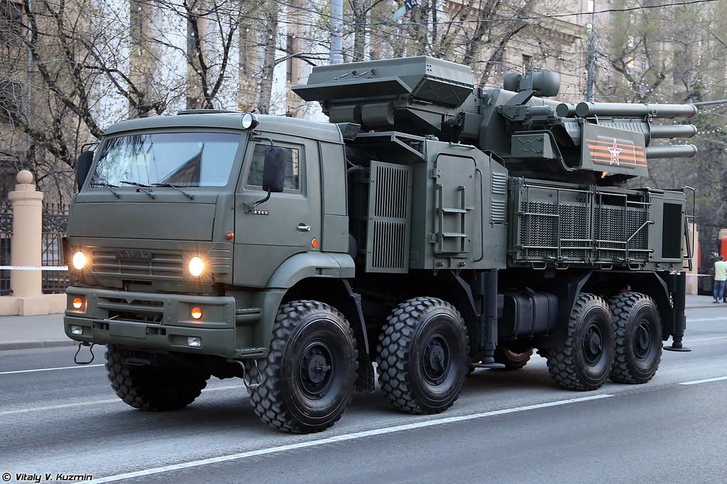 ЗРПК 96К6 Панцирь-С1 (96K6 Pantsir-S1 TELAR)