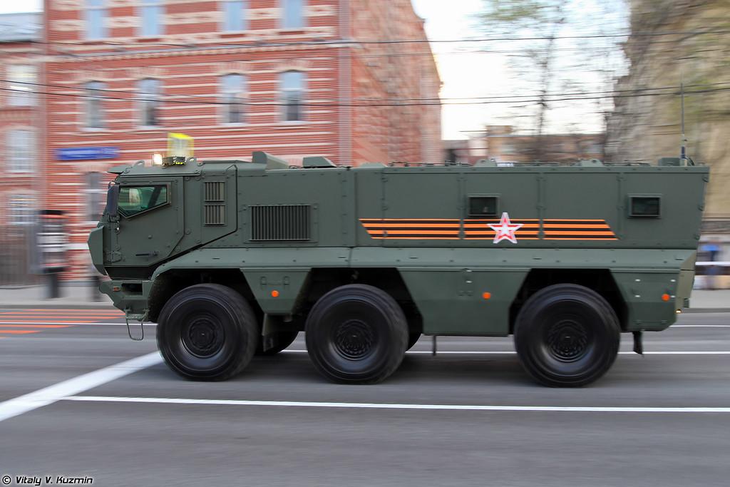 Бронеавтомобиль КАМАЗ-63968 Тайфун-К (KAMAZ-63968 Typhoon-K MRAP vehicle)