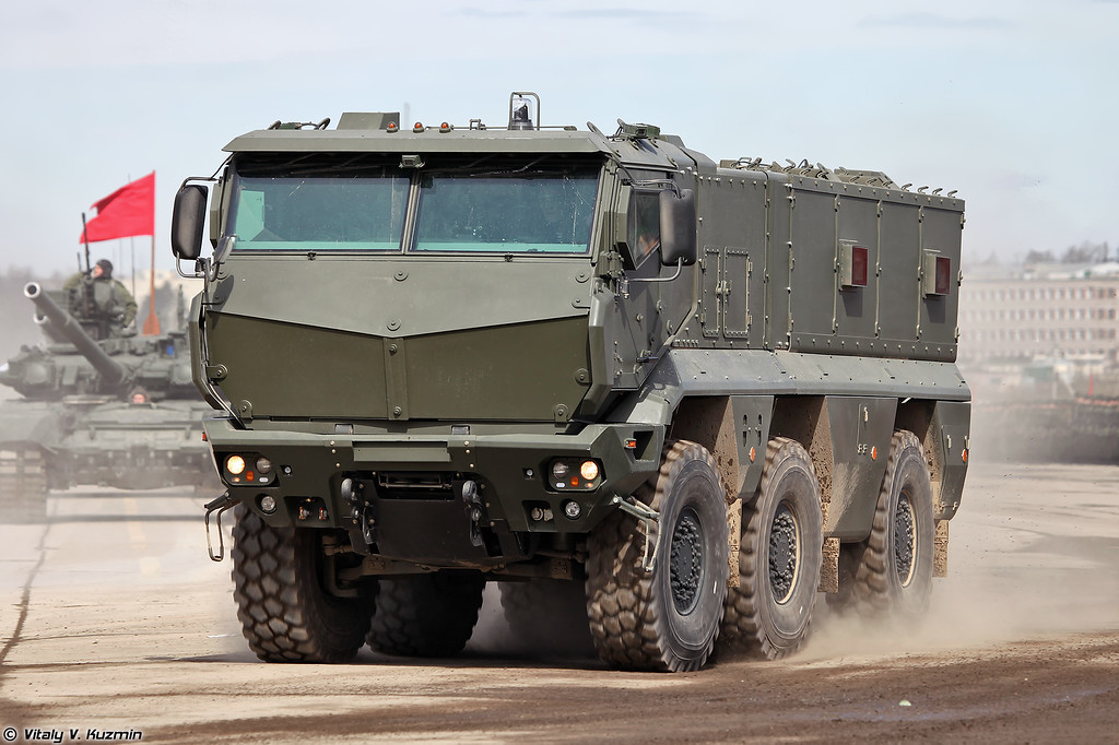 Бронеавтомобиль КАМАЗ-63968 Тайфун-К (KAMAZ-63968 Typhoon-K MRAP vehicle)