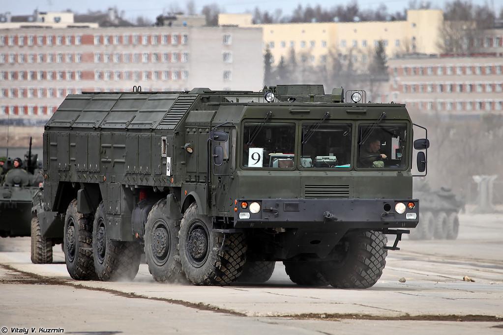 Самоходная пусковая установка 9П78-1 ОТРК Искандер-М (9P78-1 TEL for Iskander-M system)