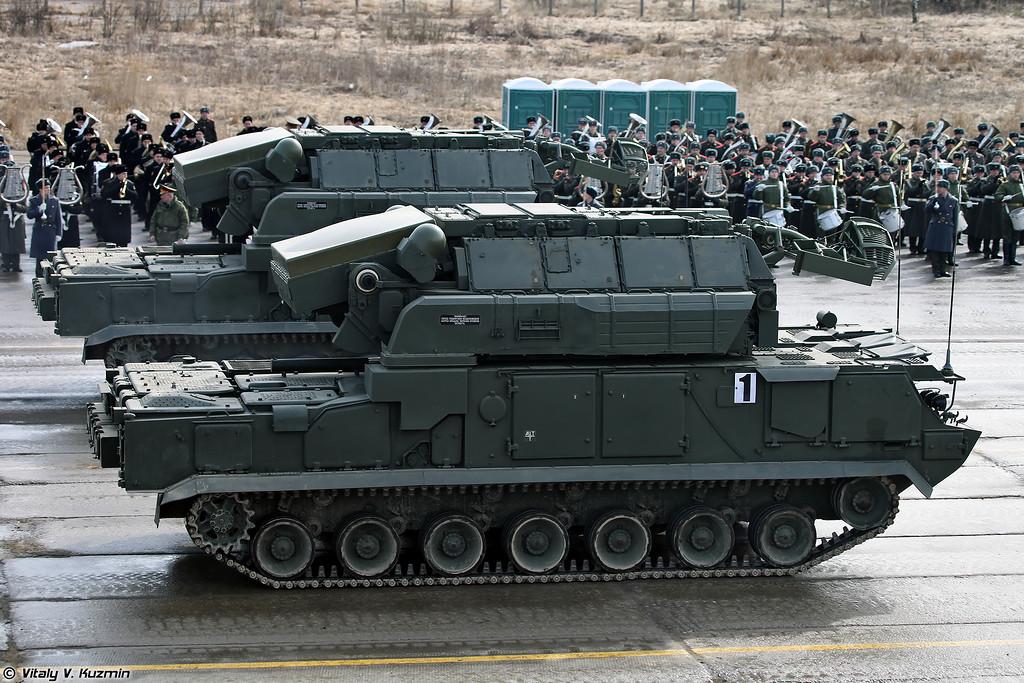 ЗРК Тор-М2У (Tor-M2U missile system)