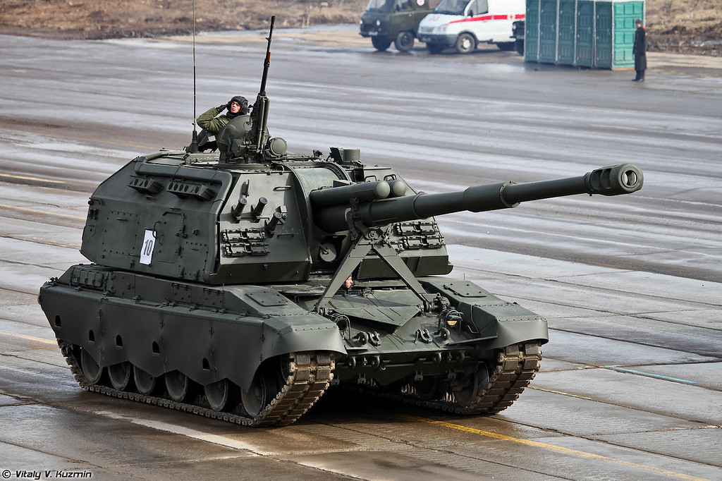 САУ 2С19М2 Мста-С (2S19M2 Msta-S SPH)