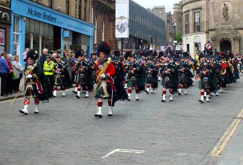 Argylls parade - Flickr