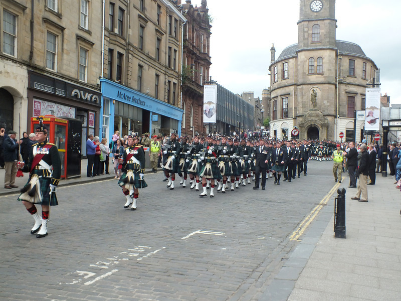 Argylls parade - Archive