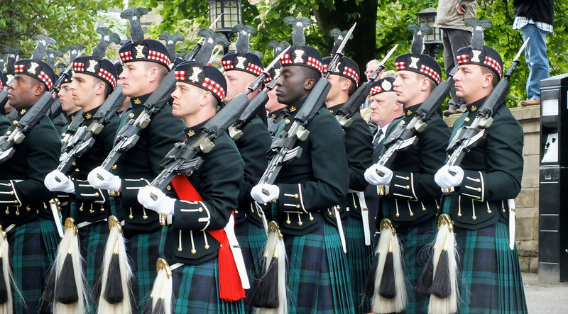 Argylls parade - Flickr