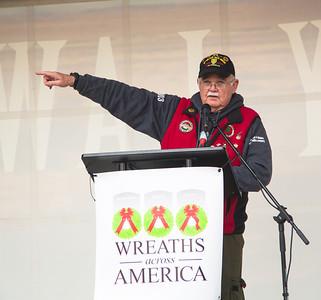Wayne Hanson, chairman of the board for Wreaths Across America