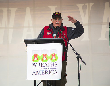 Wayne Hanson, chairman of the board for Wreaths Across America