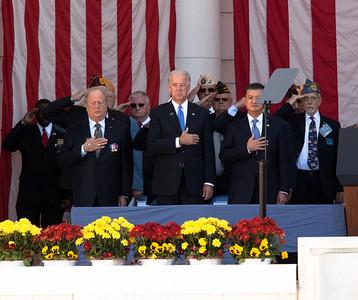 Vice President Joe Biden delivered the Veterans Day Address