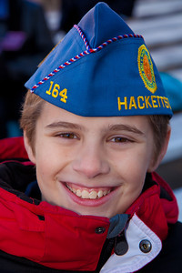 Stephan McHugh, Jr. (age 11) is a member of the Sons of the American Legion