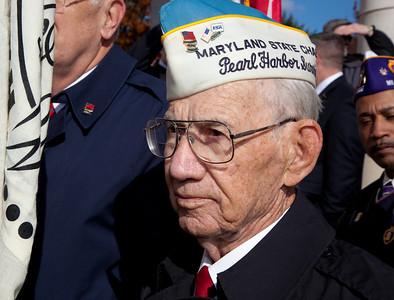 Pearl Harbor Survivor Clarence Davis