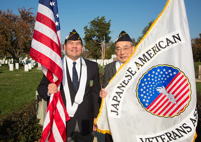 Japanese American Veterans Allen Goschi and Chosei Kuge