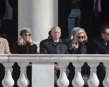 Jim Mattis, Veterans Day, Arlington National Cemetery