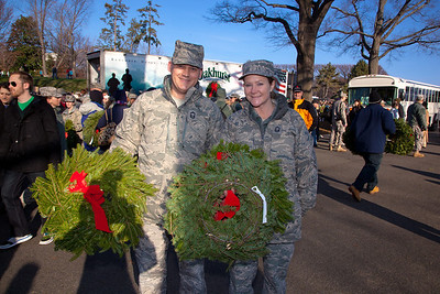 Brian and Paula Mizell of Andrews Air Force Base