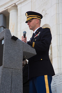 Lt. Col. Thomas Helms, the senior Army Chaplain at Arlington National Cemetery