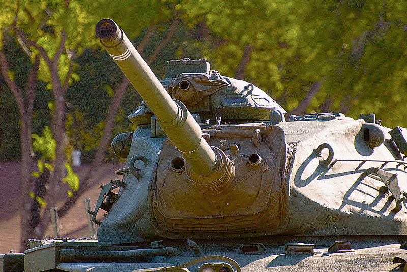"American M60A3 (TTS) Main Battle Tank ""Patton""<br /> Veterans Memorial Museum, San Luis Obispo, California"