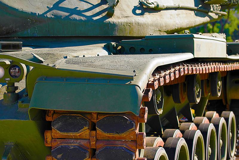 "American M60A3 (TTS) Main Battle Tank ""Patton""<br /> Veterans Memorial Museum, San Luis Obispo, California"