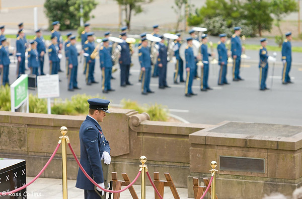 Armistice Day, National War Memorial, Wellington, 11 November 2008