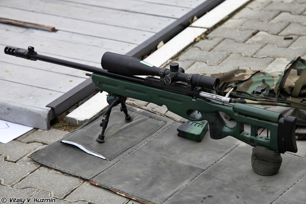 7,62мм снайперская винтовка СВ-98 (7,62mm sniper rifle SV-98)