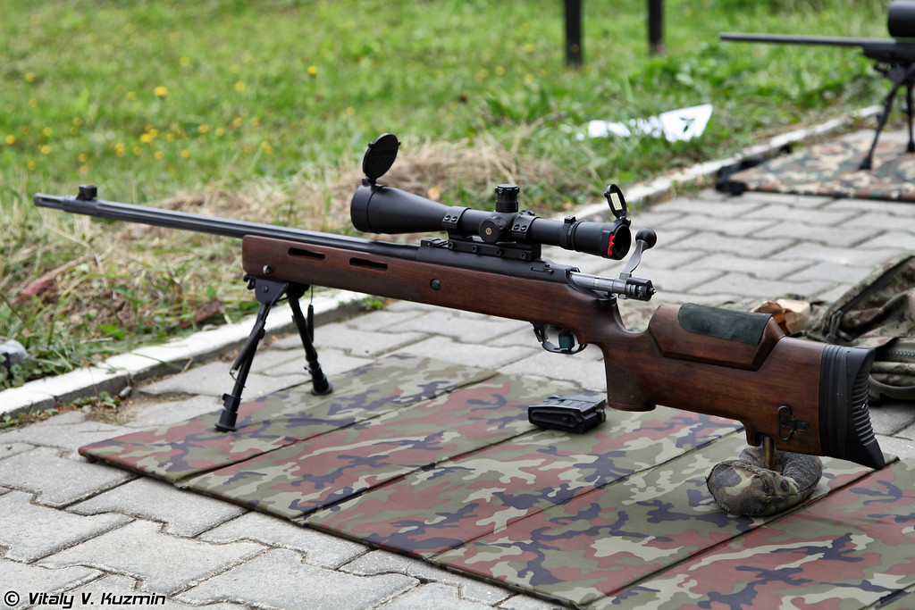 7,62мм снайперская винтовка МЦ-116М (7,62mm sniper rifle MTs-116M)