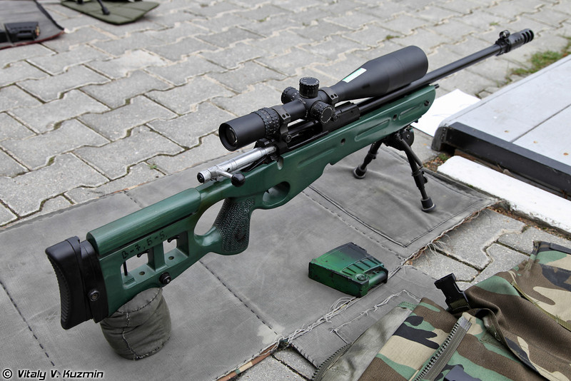 7,62мм снайперская винтовка СВ-98 (7,62mm sniper rifle SV-98)
