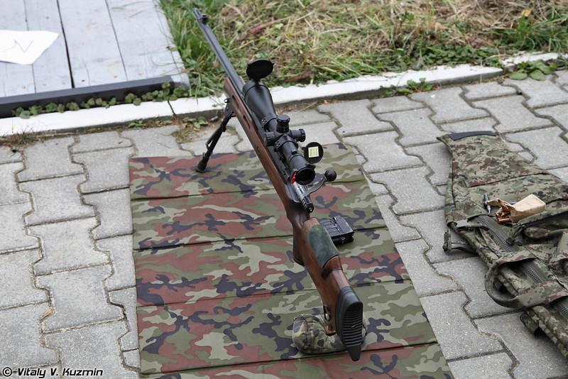 7,62мм снайперская винтовка МЦ-116М (7,62mm sniper rifle MTs-116M)