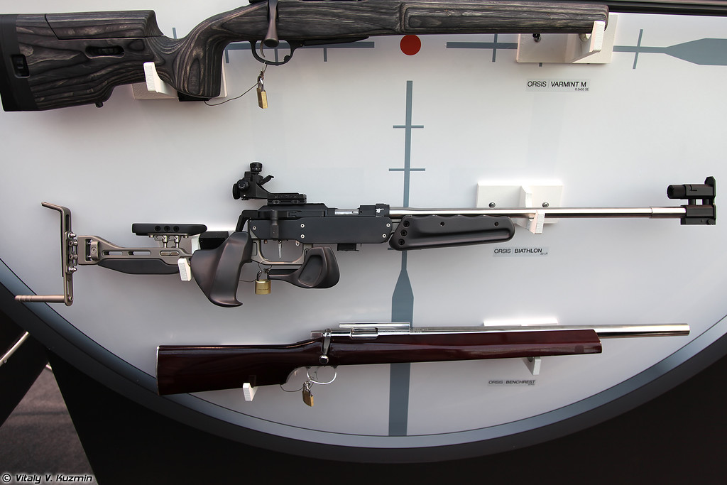 .22 LR спортивная винтовка ORSIS BIATHLON (.22 LR ORSIS BIATHLON sport rifle)