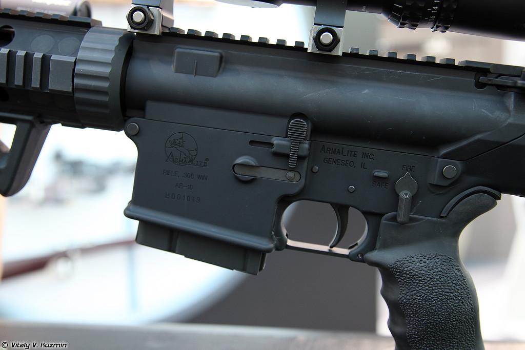 .308 Win винтовка AR-10 National Match, собранная на мощностях завода ORSIS по лицензии ArmaLite (Licensed .308 Win AR-10 National Match rifle assembled at ORSIS factory)